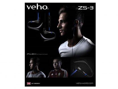 sport in-ear Veho ZS-3