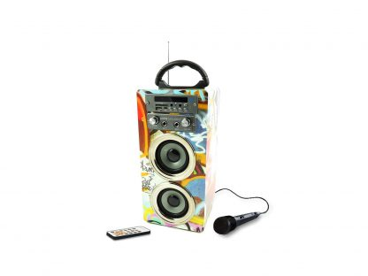 Portable karaoke systeem Pure Acoustics MCP-20 Graffiti