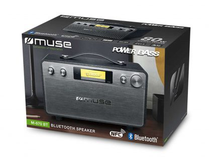 Muse bluetooth speaker M-670BT